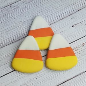 Candy Corn dog treats