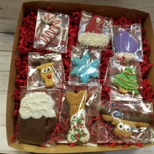 Dog Christmas Cookie Sampler
